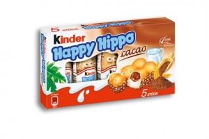 Kinder Schokolade Happy Hippo