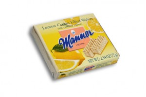 Wafers with Lemon